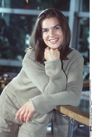 "Katarina Witt im November 1988 bei der Premiere von ""Holiday On Ice"" in Zürich"